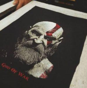шелкография на футболках на заказ