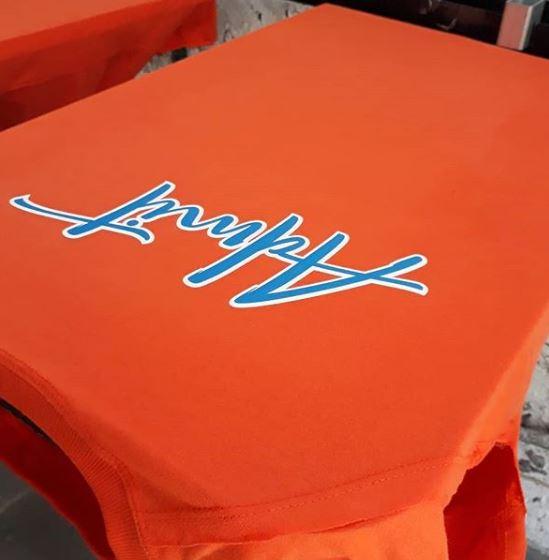 срочная печать на футболках на заказ